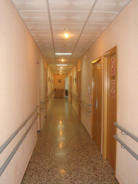 Pasillo residencial